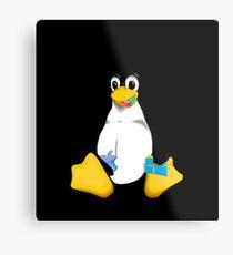 Linux is OP Metal Print