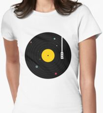 Music Everywhere Women's Fitted T-Shirt