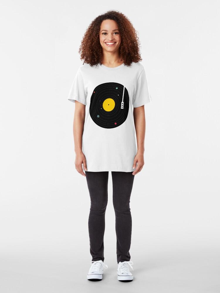 Alternate view of Music Everywhere Slim Fit T-Shirt
