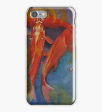 Koi Bubbles iPhone Case/Skin