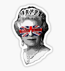 Queen Elizabeth Sticker