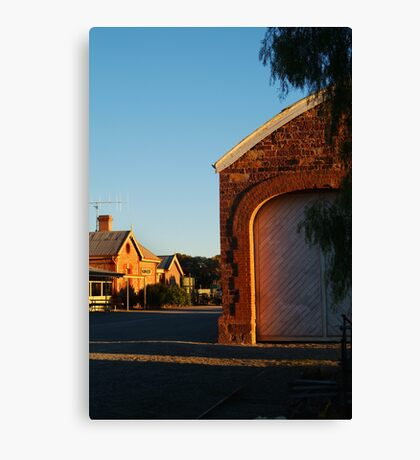 Hawker Railway Station,Outback South Australia Canvas Print