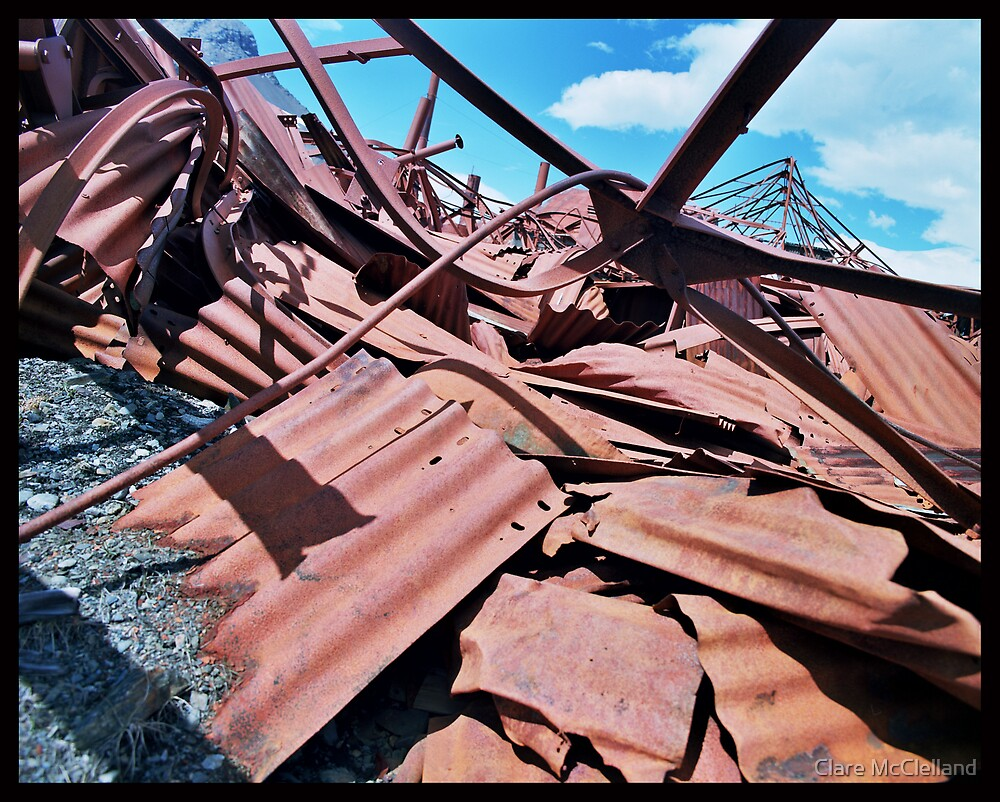 Rusty Heap by Clare McClelland