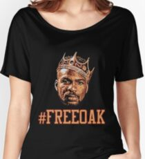Free Charles Oakley Women's Relaxed Fit T-Shirt
