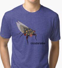 Cicadarama - Cherrynose cicada Tri-blend T-Shirt