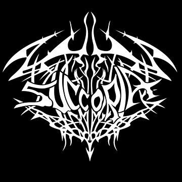 Succoria Logo Shirt - White by anxietydown