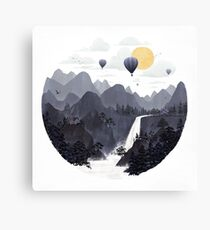 Roundscape II Canvas Print