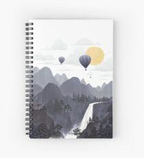 Roundscape II Spiral Notebook