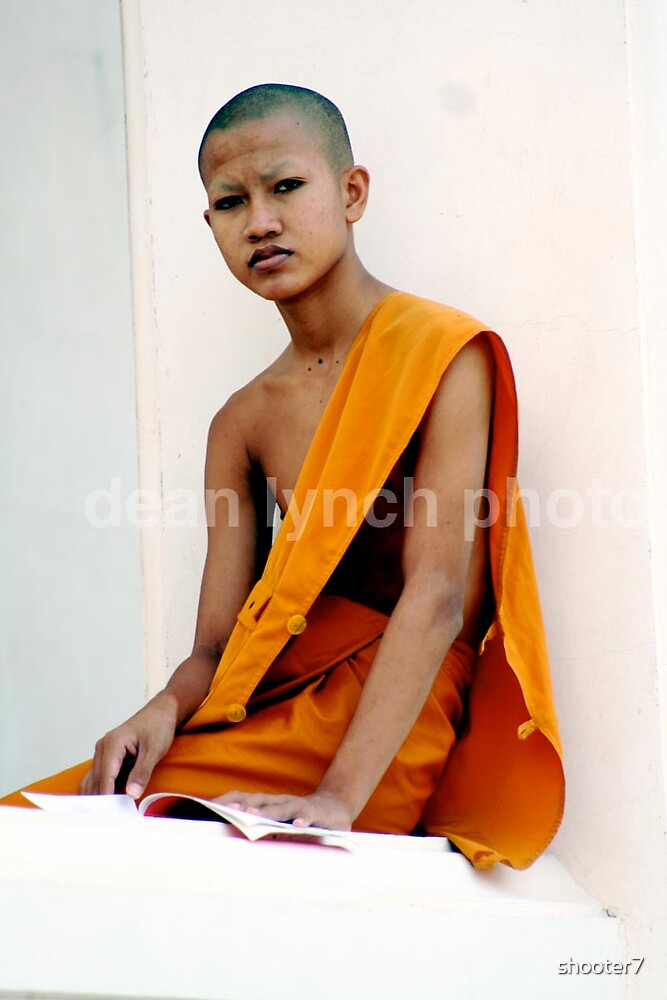 thai monk by shooter7