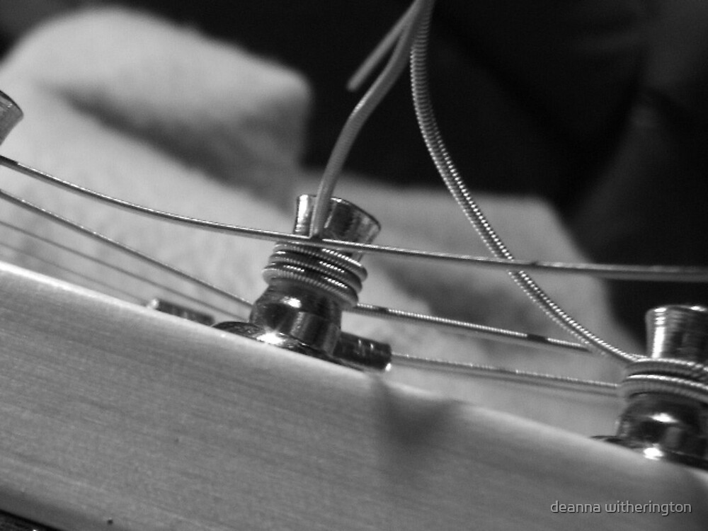 two to tangle: guitar series photo 3 by deanna witherington