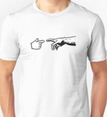 God and The Machine Hands Unisex T-Shirt
