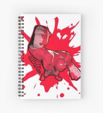 Brutes.io (Behemoth Punch Red) Spiral Notebook