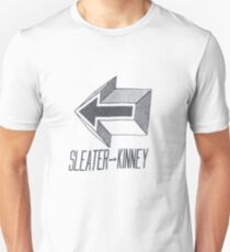 Sleater-kinney arrow Unisex T-Shirt