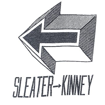 Sleater-kinney arrow by Luckythelab