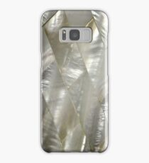 mother of pearl art deco phone Samsung Galaxy Case/Skin