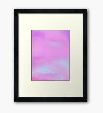 Abstract in Cool Framed Print