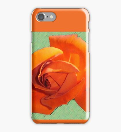 Outstanding Orange  iPhone Case/Skin