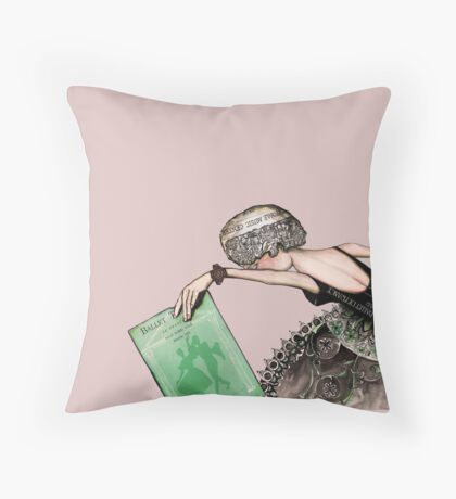 Her moment Throw Pillow