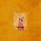 Windmill Print by FendellPosters