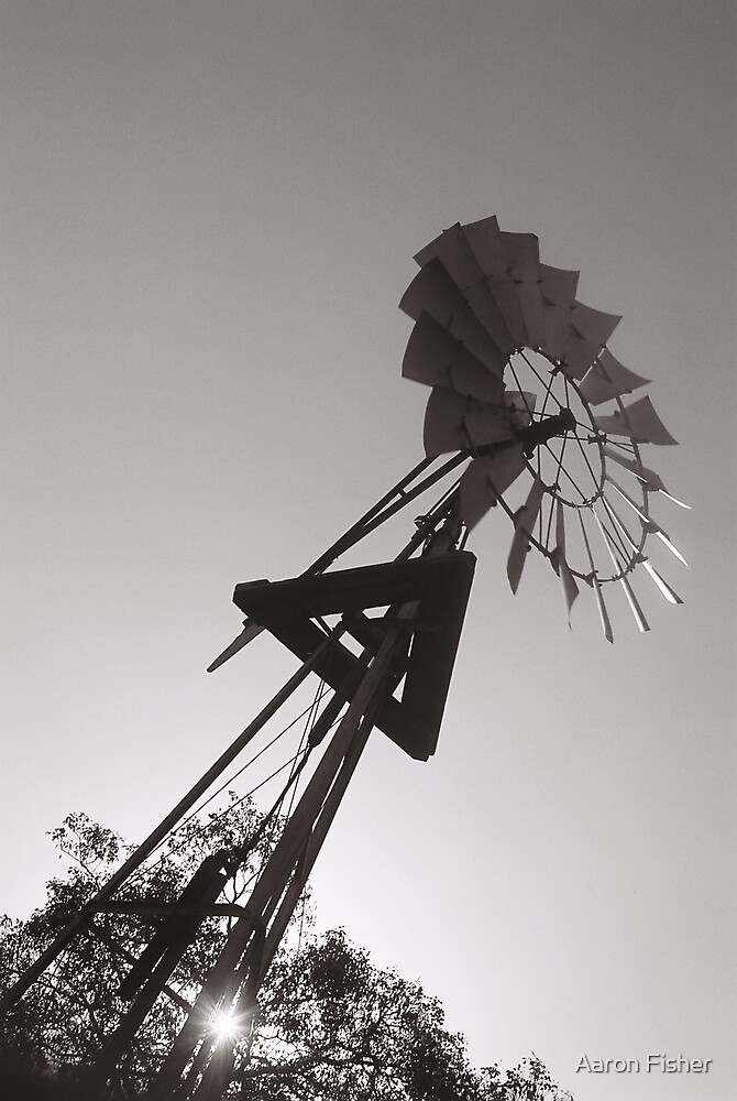 Windmill @ Whiteman Park by Aaron Fisher