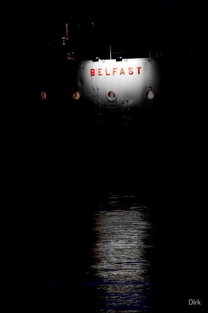 HMAS Belfast by Dirk