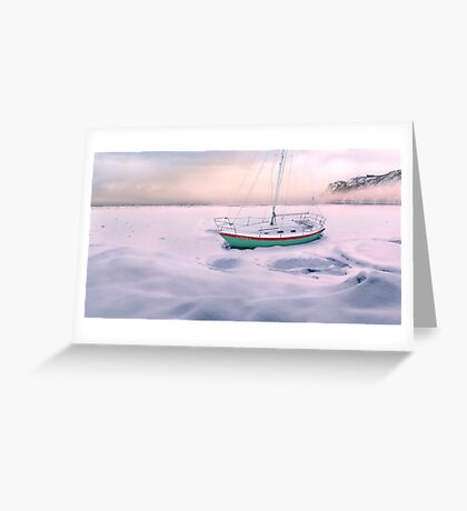 Memories of Seasons Past - Prisoner of Ice Greeting Card