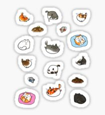 Caturday is Everyday Sticker