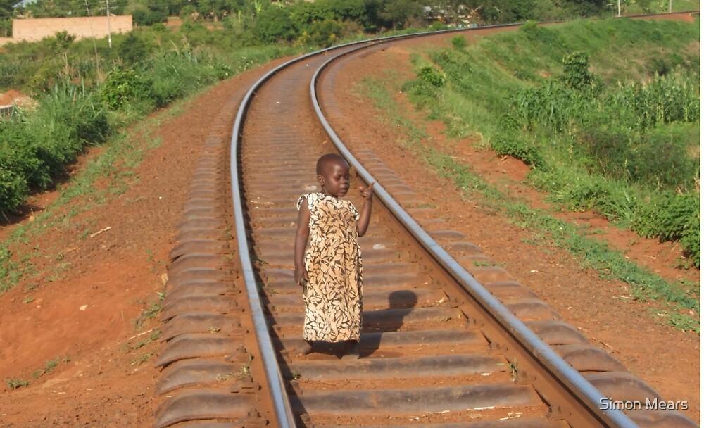Young Girl, Uganda by Simon Mears
