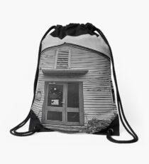 Abandoned Building Drawstring Bag
