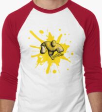 Brutes.io (Brute Run Yellow) Men's Baseball ¾ T-Shirt