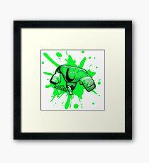 Brutes.io (Brawler Run Green) Framed Print