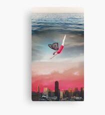 Butterfly Fairy 3 - Photoshop Fairytale Collage Canvas Print