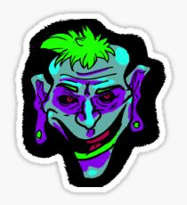 joker blue Sticker