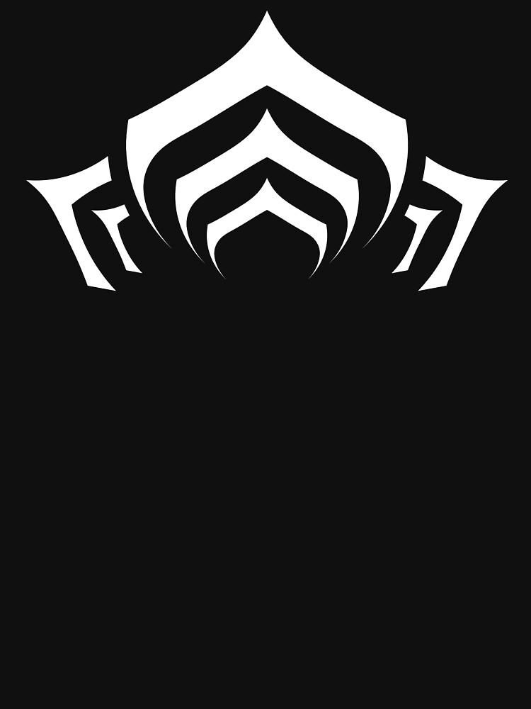 Warframe Lotus Symbol White Classic T Shirt By Eleshis Redbubble