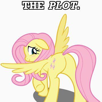 For the Plot (Fluttershy) by vigorousjammer