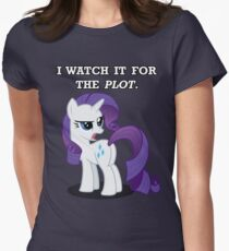 For the Plot (Rarity) Womens Fitted T-Shirt