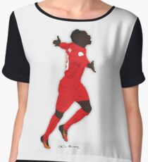 Sadio Mane Liverpool Football Club Chiffon Top