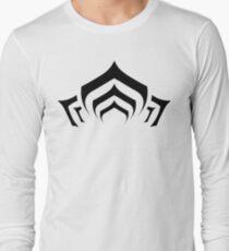 Warframe lotus symbol black Long Sleeve T-Shirt