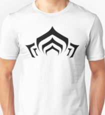 Warframe lotus symbol black T-Shirt
