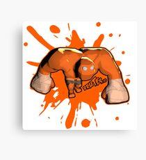 Brutes.io (Behemoth Run Orange) Canvas Print