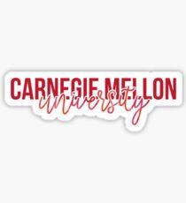 Carnegie Mellon - Style 13 Sticker