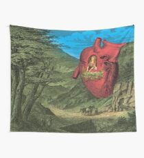 Heart's Ease Traveler's Rest Wall Tapestry