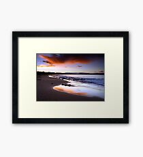 Culburra Beach Sunset #1 Framed Print