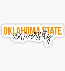 Oklahoma State - Style 13 Sticker