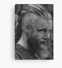 king ragnar Canvas Print