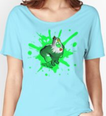 Brutes.io (Costume Brooster Green) Women's Relaxed Fit T-Shirt