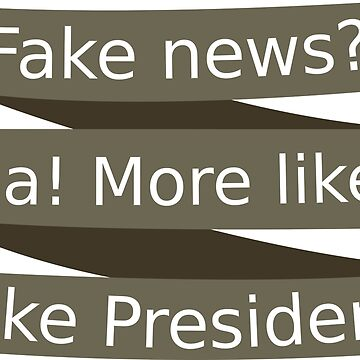 Fake News for a Fake President by sperraton