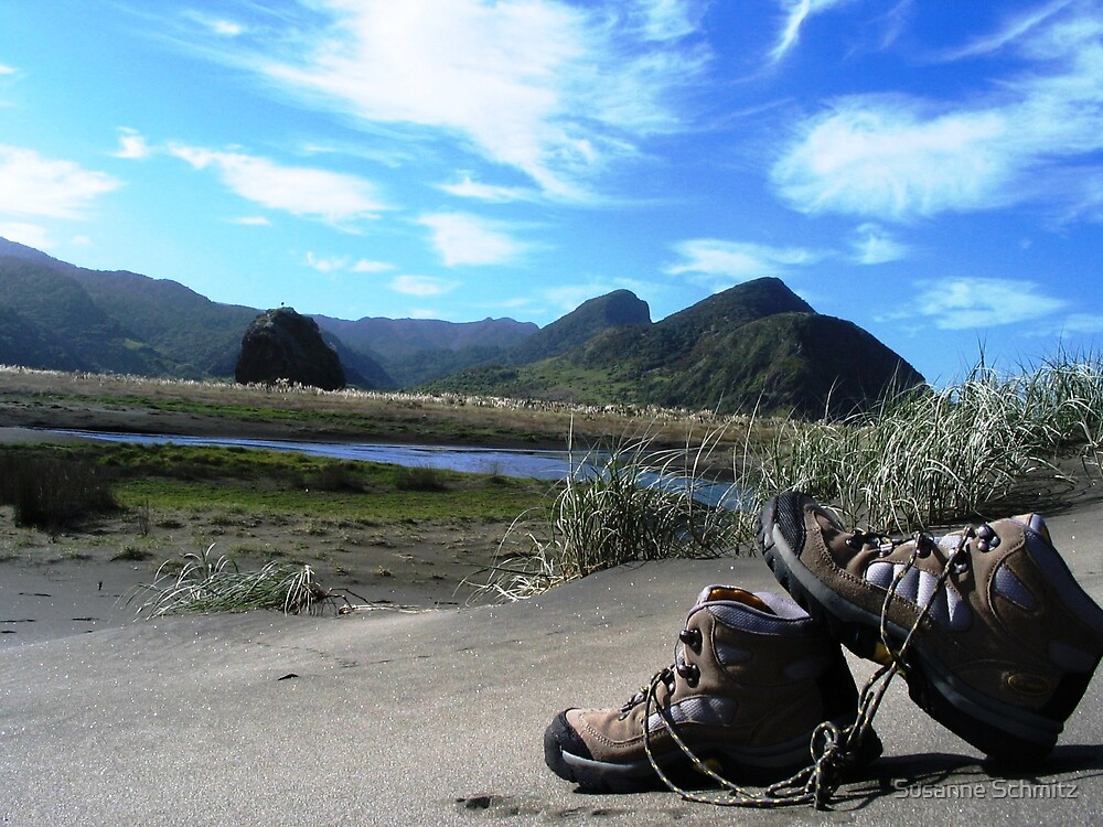 trekking in NZ by Susanne Schmitz