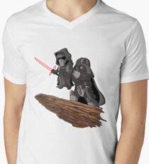 villain funny Men's V-Neck T-Shirt