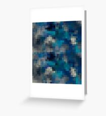 Puzzle waves Greeting Card